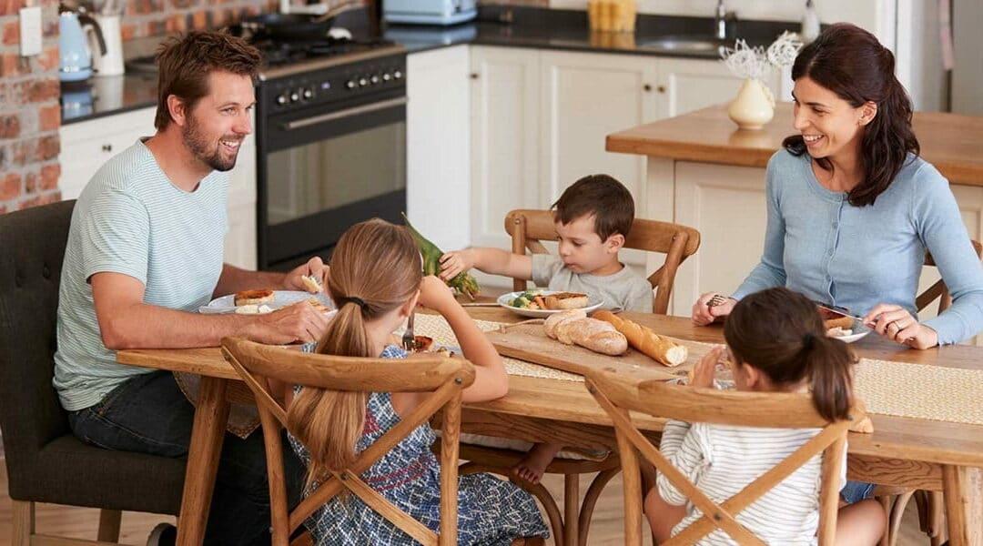 Gezond eten met heel het gezin